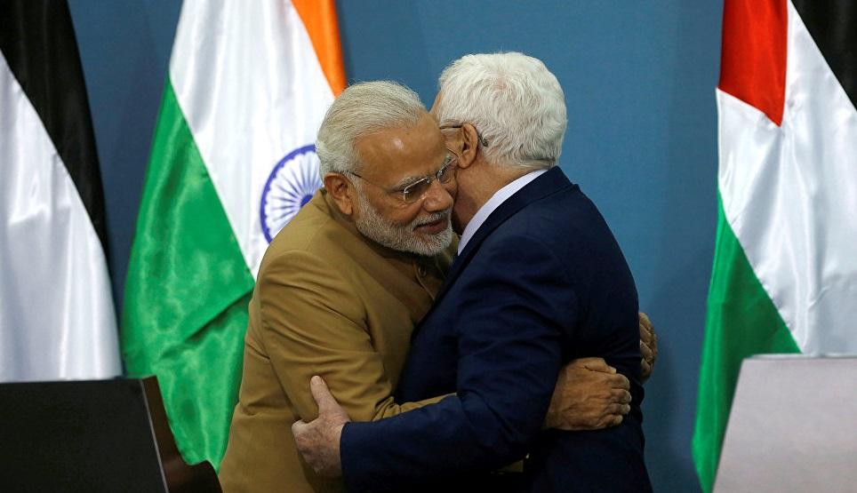 Премьер Индии объявил оподдержке палестинского дела